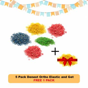 Buy 5 Pack Denext Ortho Elastic and Get 1 Pack FREE