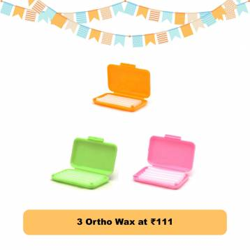Buy 3 Ortho Wax at ₹111