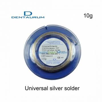 DENTAURUM UNIVERSAL SILVER SOLDER COILS 10 gms