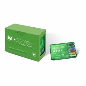 Dentsply M-Access K-File 21mm # 15-40, 45-80