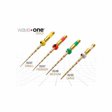 Dentsply Wave One Gold Rotary Files