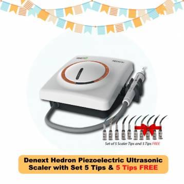 Denext Hedron Piezoelectric Ultrasonic Scaler 5+5 tips OFFER