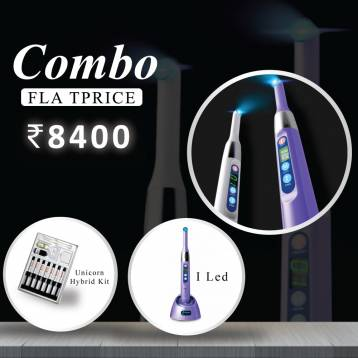 Buy Woodpecker I LED and  Unicorn Denmart Hybrid Composite Kit - Prime Dental USA Combo