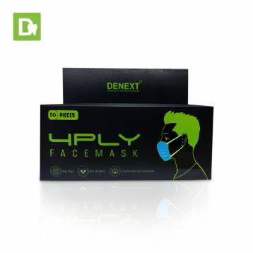 Denext Disposable 4 PLY Mask
