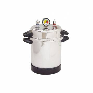 Life Steriware Autoclave Powder Coated(With Timer)